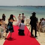 4月23日砂浜挙式&ラグジュアリーロケーションフォト
