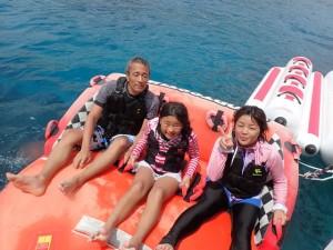 ケラマ無人島海水浴ツアー(マーブル)