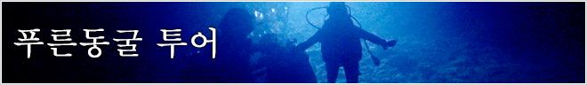 플랜 카테고리 푸른동굴 투어