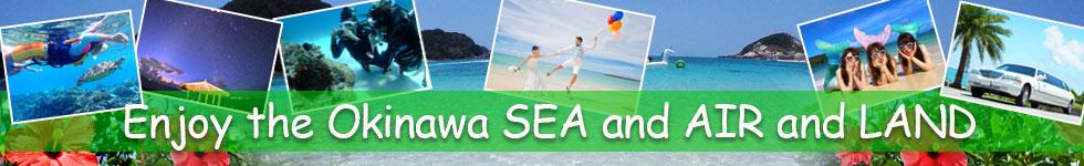 沖縄の海・空・陸を楽しむ!