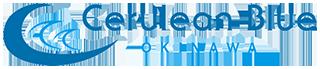 Cerulean blue logo