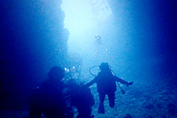 "The ""Blue Cave tour"" image"