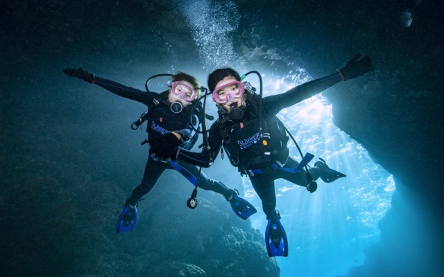 青の洞窟体験ダイビング3