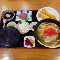 食事(そば定食)